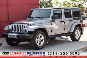 2015 Jeep WRANGLER UNLIMITED Sahara+ 2 TOIT+ GPS + PLANS DOR