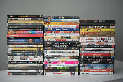 *Empty* DVD Cases with Original Artwork - Lot of 63