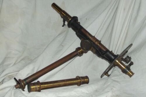 Antique Polarimeter of lacquered brass from Laurent Paris
