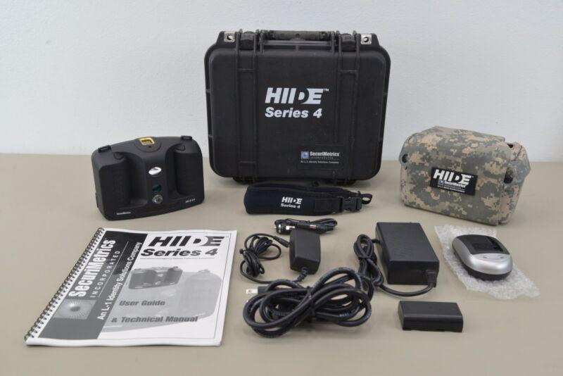 SecuriMetrics L-1 Identity Solutions HIIDE Series 4 Handheld Identity Detection