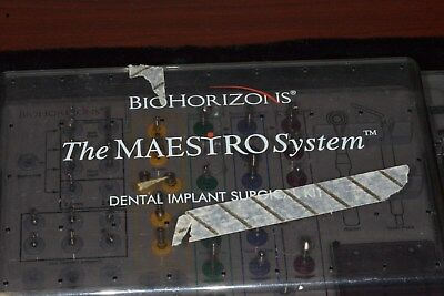 Biohorizons The Maestro System  Dental Implant Surgical Kit