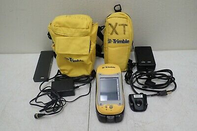 Trimble Geo Xt 50950-20 Pocket Pc Geoexplorer With Charger Battery Cables