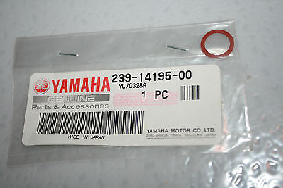<em>YAMAHA</em> NOS MOTORCYCLE FLOAT VALVE WASHER TD2 TD3 MX 250 SC500 TZ YZ IT