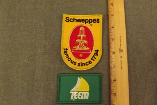Lot of 2 Schweppes + Teem (Pepsi