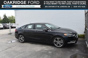 2017 Ford Fusion 4DR SDN AWD- NAVIGATION- LEATHER - MOONROOF - H