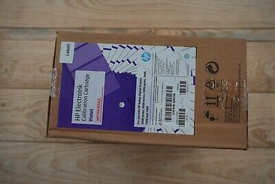 Hp Indigo Electroink Q4079a Calibration Cartridge Violet For 3000 7000 7500 7600