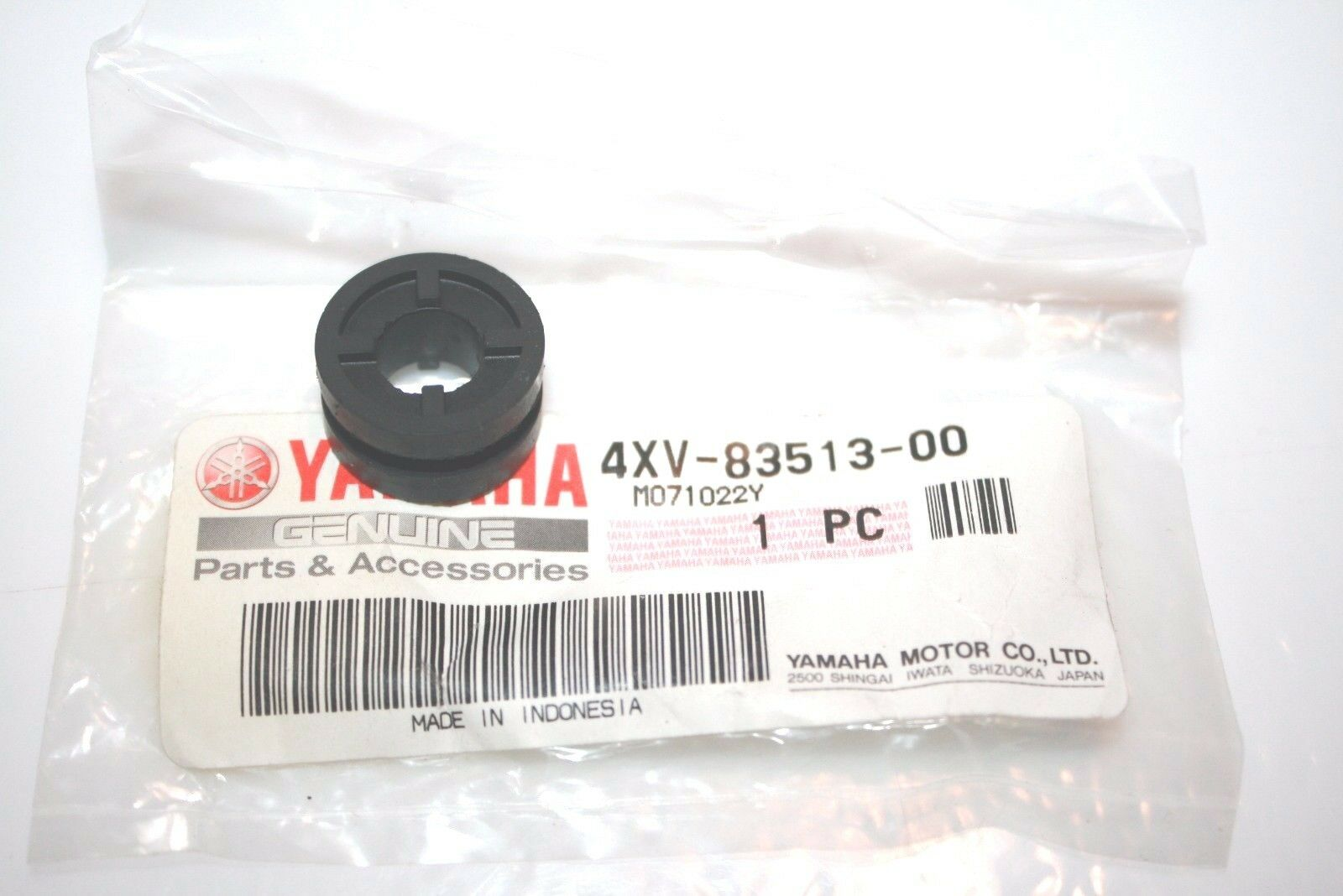 NOS YAMAHA SNOWMOBILE DAMPER RX-1 RS VECTOR TAILLIGHT METER 4XV-83513