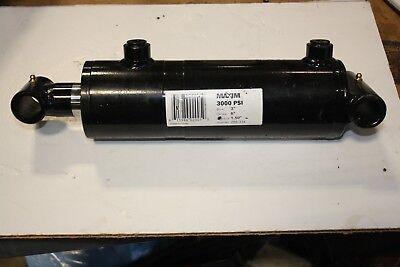 New Maxim Hydraulic Cylinder Pn 288-334 3 Bore 6 Stroke