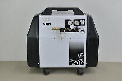 Meti Compact 106 Silent Piston Portable Compressor 34 Hp 1.5 Gallon 22304 K15