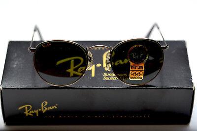New Vintage Ray Ban John Lennon Style W1575 Antique Pewter Classic Metals B&L (Rayban John Lennon)