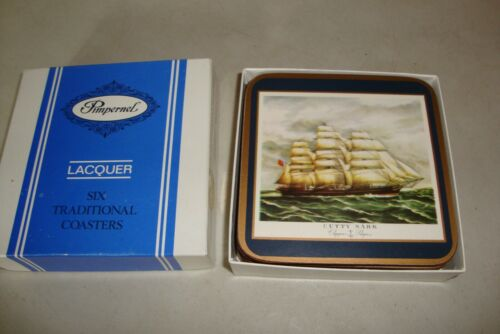 Pimpernel Clipper Ships Set of 6 Coasters with Box
