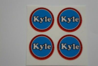 """16  Kyle  CROWN GREEN STICKERS  1""""   LAWN BOWLS FLATGREEN  AND INDOOR BOWLS"""
