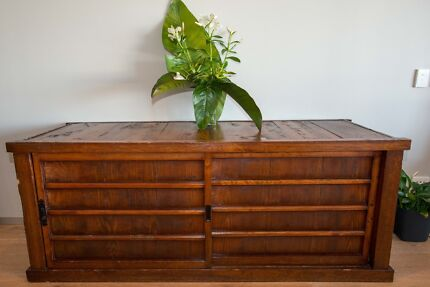 Japanese Antique Side Chest In Good Condition Coogee Eastern Suburbs Preview