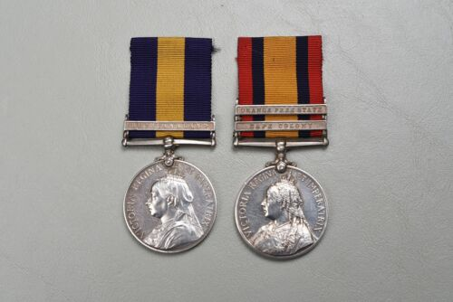 BRITISH VICTORIAN 1899 SOUTH AFRICA/CAPE OF GOOD HOPE MEDAL PAIR TO CAPE POLICE