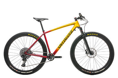 2018 Specialized Mens Epic Hardtail Expert Carbon Mountain Bike Large SRAM GX