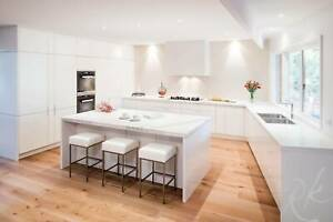Free Quote for L shape kitchen with stand island benchtop Moorabbin Kingston Area Preview