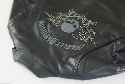Harley Davidson Men Designator Willie G Skull Leather Jacket LT L Tall97078-09VM