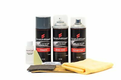 Scratchwizard Touchup Paint for Jeep PX8 (Carbide Black)