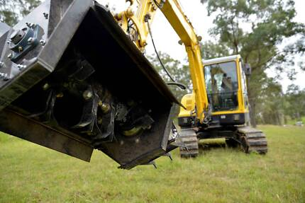 Excavator Hire / Flail Mower/ Vegetation Management  Kenilworth Maroochydore Area Preview