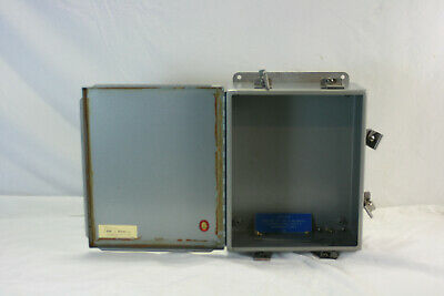 Hoffman Electric Metal Enclosure Box 12 X 10 X 5.5 Heavy Metal Industrial Box