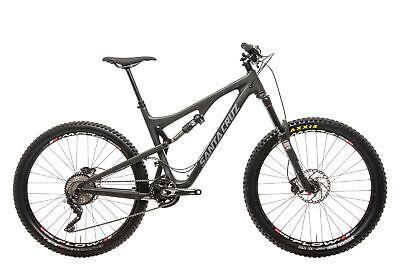 "2017 Santa Cruz Bronson C Mountain Bike Large 27.5"" Carbon Shimano XT RockShox"