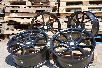 "19"" RS ST Alloy Wheels 5x108 BLACK fits Ford Focus Mk2 Mk3 Mk4"
