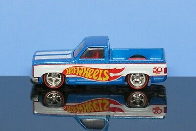 Hot Wheels Exclusive '83 Chevy Silverado Pickup 50th Anniversary RL Real Riders