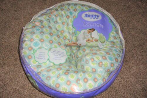 Original Boppy Newborn Lounger 0-4 Months Seed Row Design