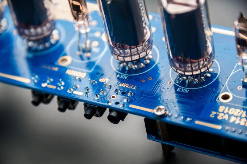 DIY kit Nixie Tubes Clock Arduino Shield NCS314 on IN-14