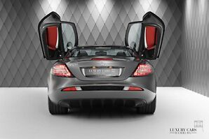 SLR Coupe SILVER / RED