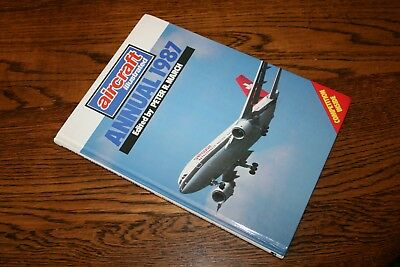 Aircraft Illustrated Annual 1987 Ian Allan hardback book
