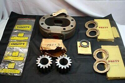 International Td 14 Crawler Tractor Hydraulic Parts Drott Hydraulic Vane Spline