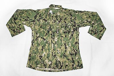 NEW NWU Type III Navy Seal AOR2 COMBAT SHIRT Blouse many SIZES