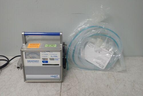 Newport Model HT50 Ventilator w/ AirLife Ventilator Circuit 003762