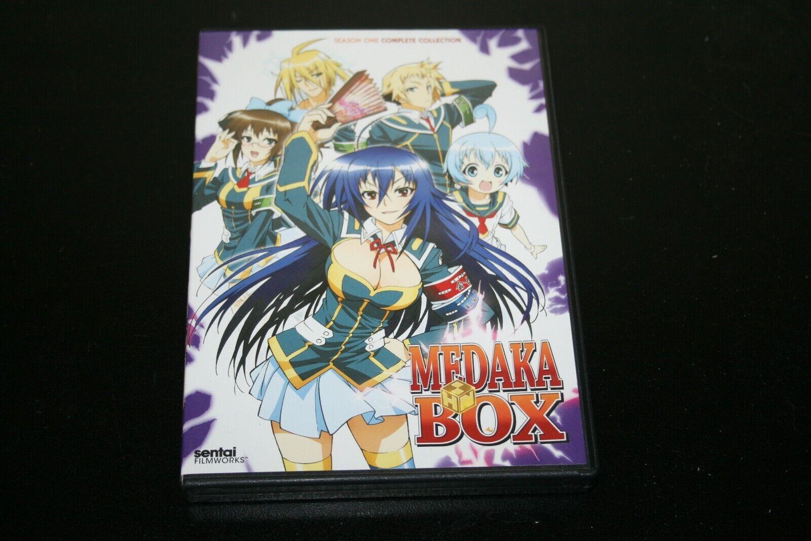 Anime Sentai MEDAKA BOX Complete Collection Season One 3 Disc DVD - $7.97
