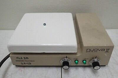 Sybron Thermolyne Model Sp13425 Nuova Ii Hot Plate Magnetic Stirrer Stir Plate