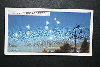 Leo  Star Constellation   Original 1920's Vintage Card
