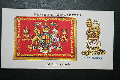 2nd Life Guards Insignia   Vintage Colour Card  ## VGC