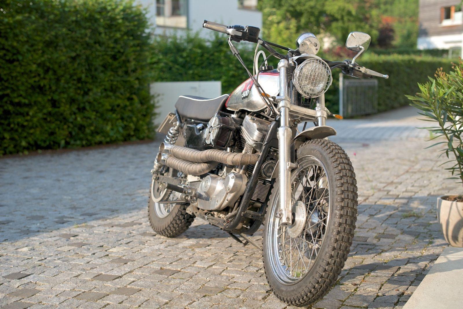 Harley Davidson Sportster 883 Scrambler Umbau