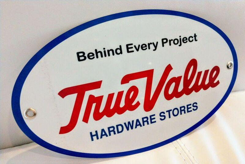 True Value Hardware Store Sign