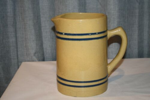 Vintage Buckeye Root Beer Stoneware Pitcher