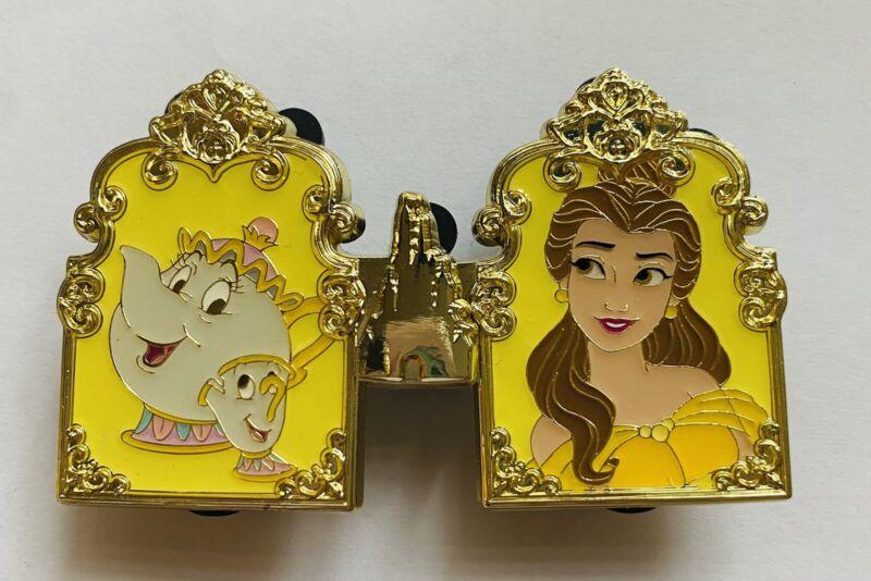 HKDL Hong Kong Disney 2021 Pin Trading Carnival Princess Belle Pin set