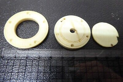 ANTIQUE VICTORIAN SEWING FINE SPOOL DISKS