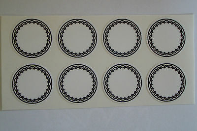"""12  WHTE  STICKERS 1"""" CROWN GREEN BOWLS LAWN BOWLS FLATGREEN  INDOOR BOWLS"""