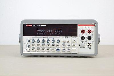 Keithley 2100 6 5 Digit Usb Multimeter  14905