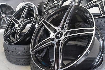 19 Zoll AX7 Felgen für Mercedes GLA GLC GLK 43 45 AMG C253 X253 X156 X204 W221