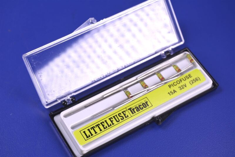 5 Littelfuse 253 Series 0253015.V PICO® II Fast-Acting Fuse MIL-PRF-23419. 15A.