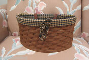 Longaberger Scalloped Basket