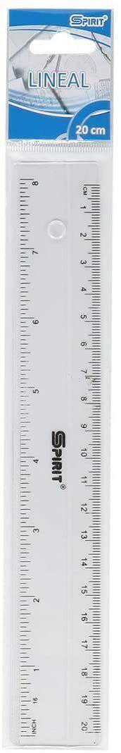 Lineal 20/30cm, Transparent