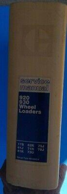 Cat Caterpillar 920 930 Wheel Loader Service Manual 41j 41k 79j 75j 73u 62k 71h